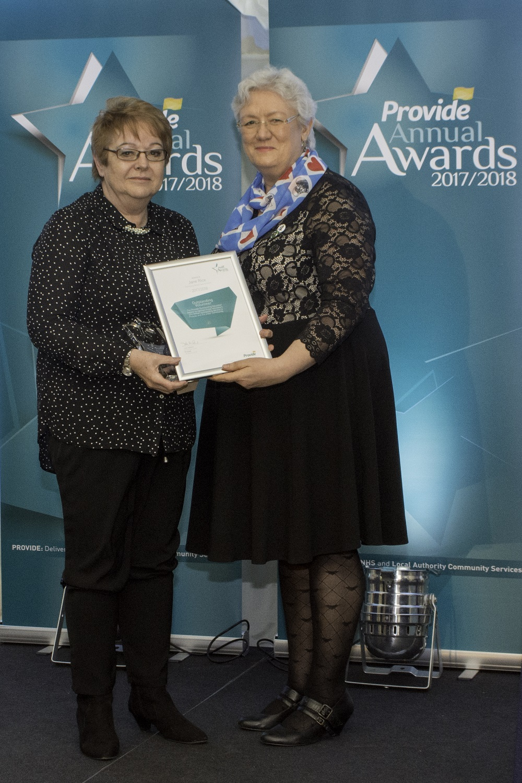 Provide staff awards
